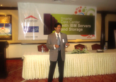 Session on IBM Systems Storage by Syed Rehman Mehmood (IBM)
