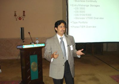 Session on IBM Systems Storage by Syed Rehman Mehmood (IBM
