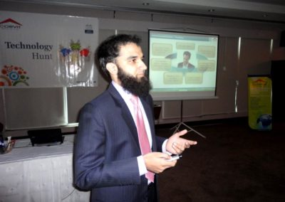Session on IP Telephony by Ali Shahbaz (Corvit)