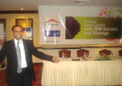 Session on Server Consolidation by Naeem Akhtar (Corvit)