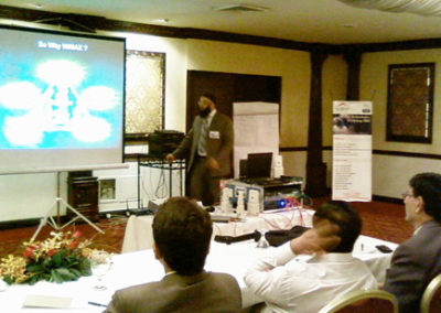 Learn to Unwire Session by Tauseef Amjad Latif of Corvit