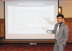 Session on MPLS by Adnan Ullah Khan