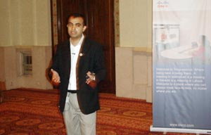 Kashif Malik from Cisco Systems