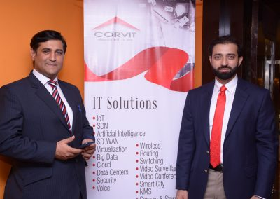 Wajid & Uzair (Sales Team - CORVIT)