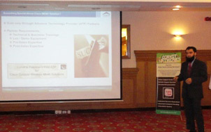 Session on Cisco Secure Unified Wireless Solution by Ali Shahbaz