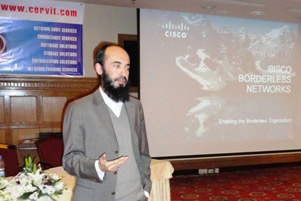 Session on Cisco's Borderless Network by Baber Shahbaz